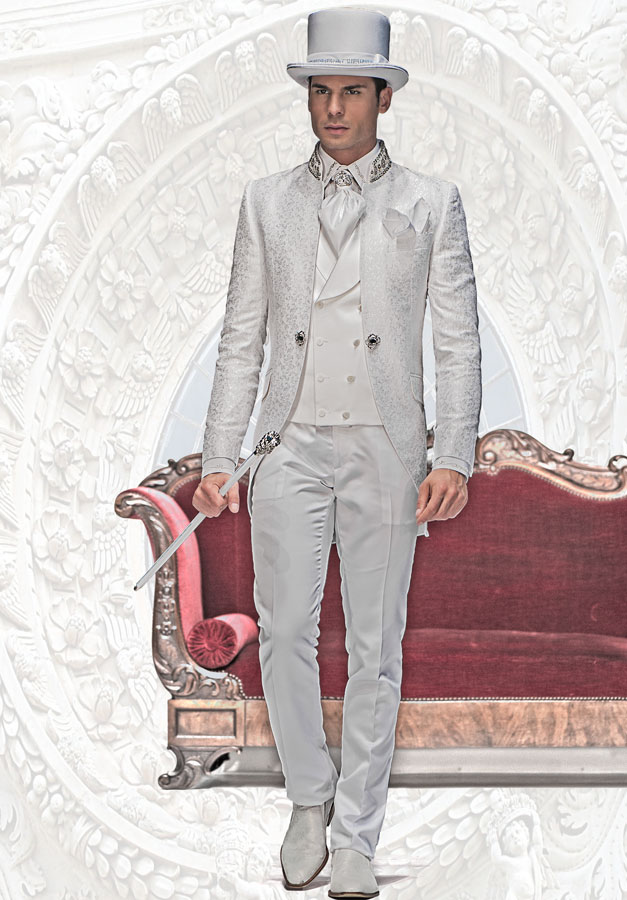 trajes de poca italianos modelo b12 428 colecci n. Black Bedroom Furniture Sets. Home Design Ideas