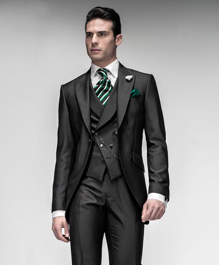 High Fashion Italian Wedding Suits, model: F01-(404) Ottavio