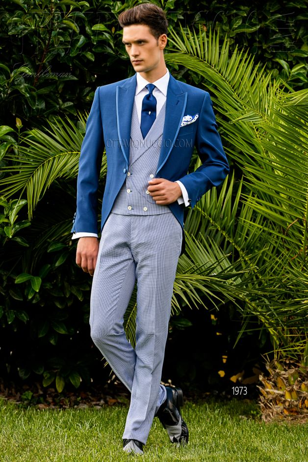 ONGala 1973 - Royal blue Italian morning suit