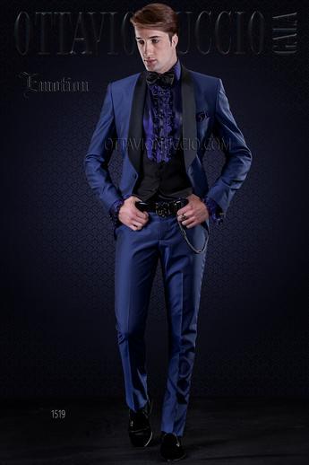 Collection emotion 2016 - Costume bleu electrique ...