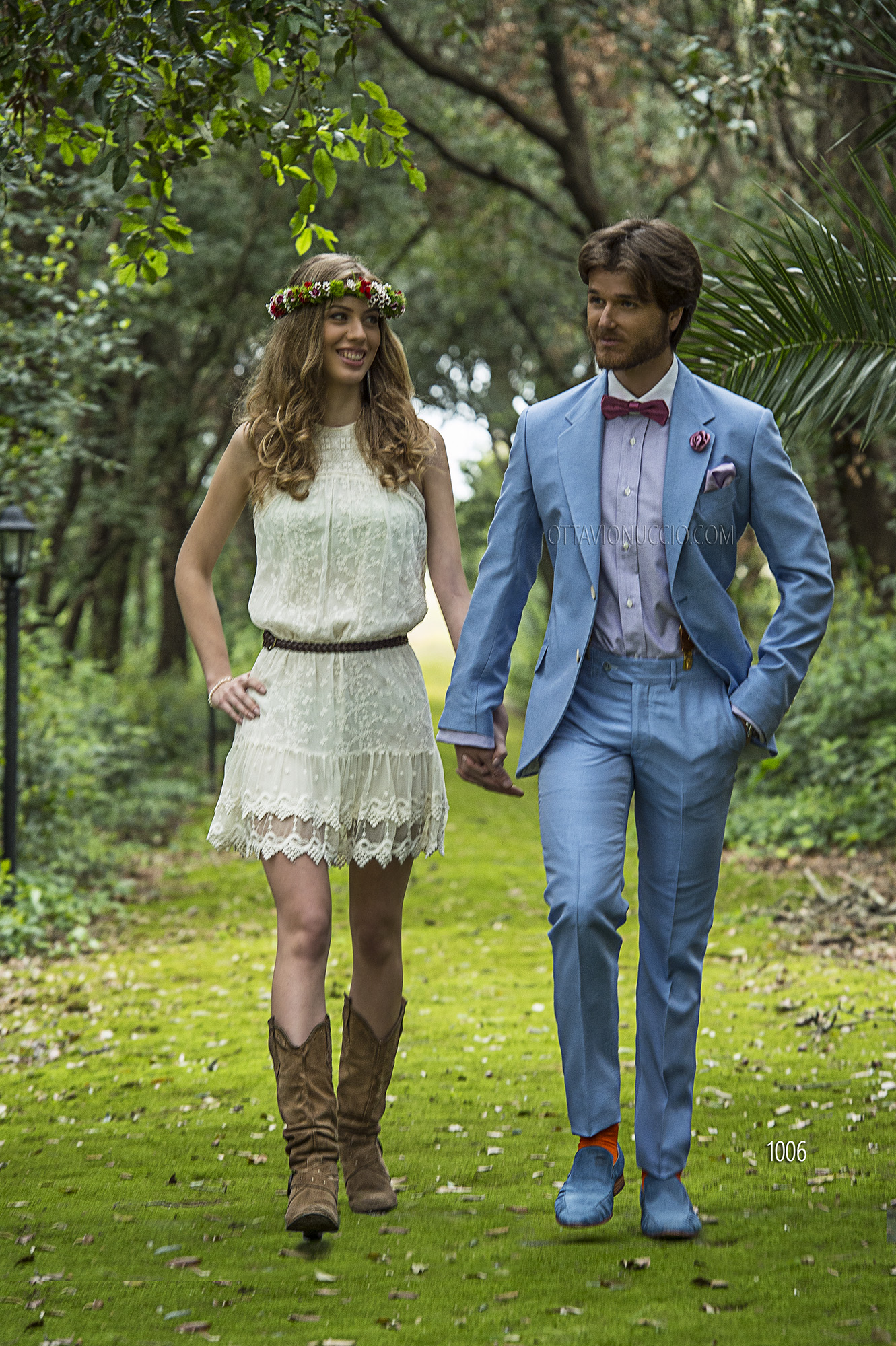 Italienische hochzeitsanzug himmelblau aus shantung for Hochzeitsanzug fliege