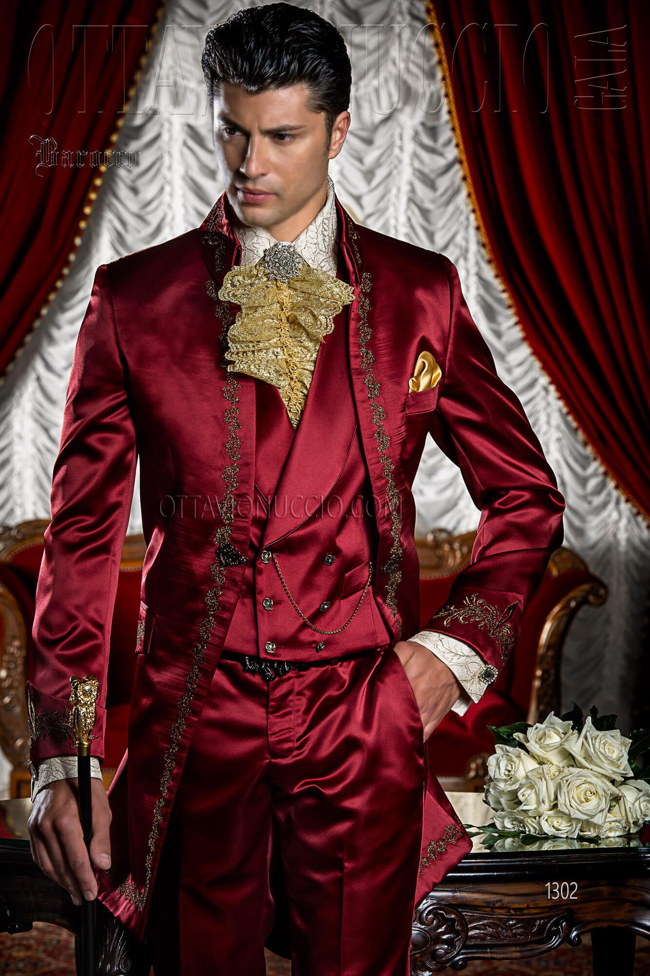 Abito Matrimonio Uomo Rosso : Abito uomo matrimonio bordeaux vestito da sposa uomo migliore