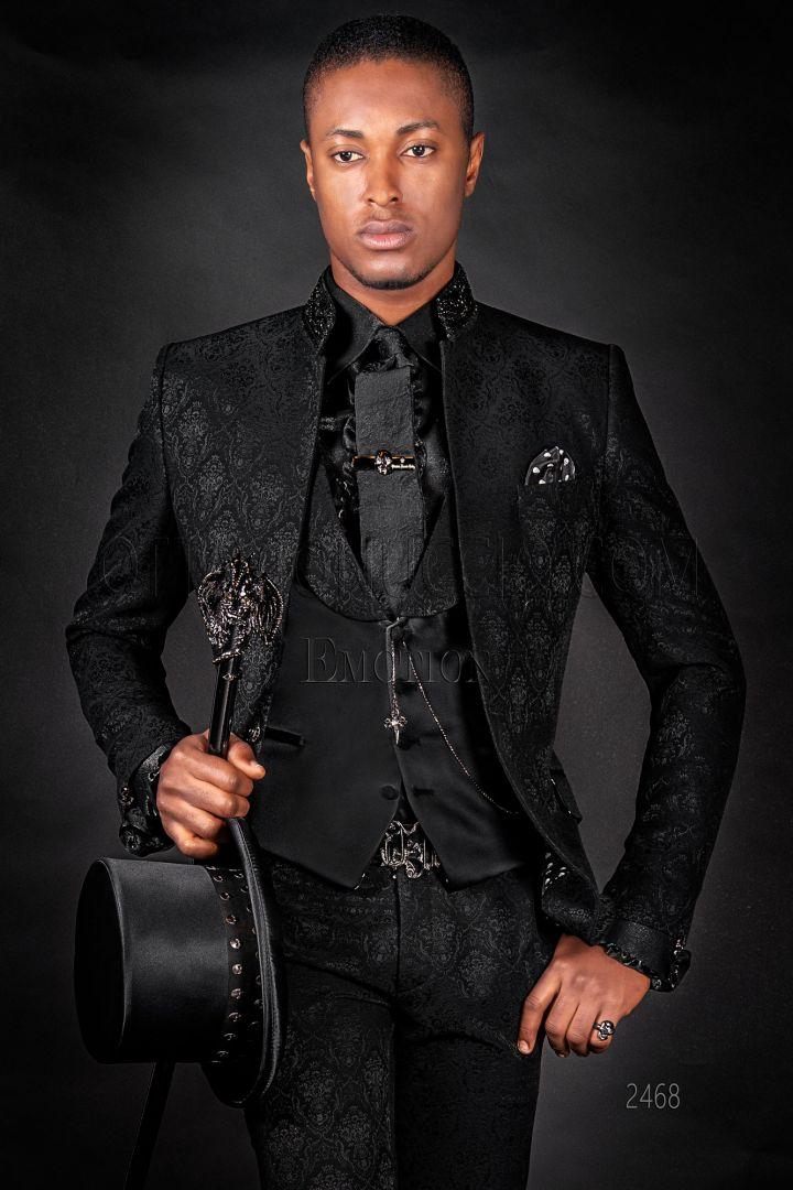 Total Black Uomo Matrimonio : Abiti da sposo abiti da cerimonia uomo ottavio nuccio gala