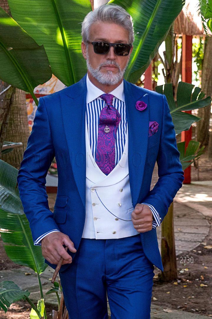 Vestiti Cerimonia Uomo Estivi.Abito Uomo Da Cerimonia Estivo 2020 Ottavio Nuccio Gala
